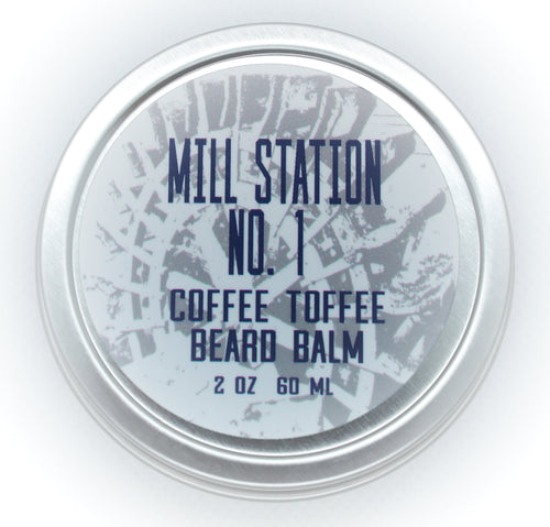 Organic Beard Balm Coffee Toffee 2 oz