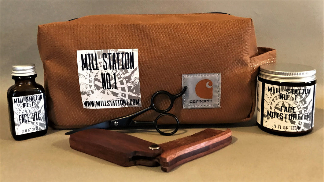 Face Kit With Dopp Bag - Mill Station No. 1