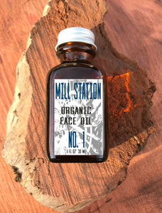Organic Face Oil 1 oz - Mill Station No. 1