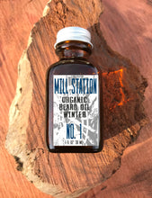 Limited Edition Winter Organic Beard Oil 1 oz - Mill Station No. 1