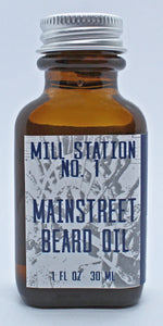 Mainstreet Organic Beard Oil