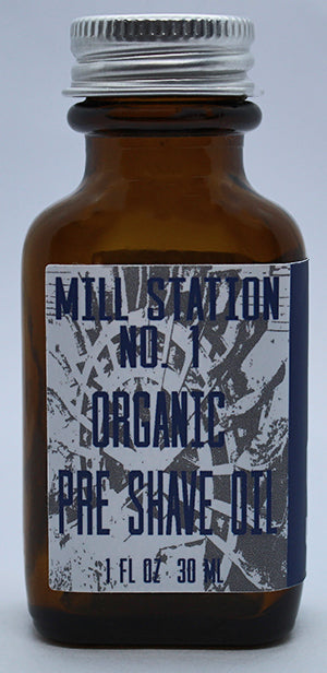 Mill Station No. 1 Organic Pre Shave Oil