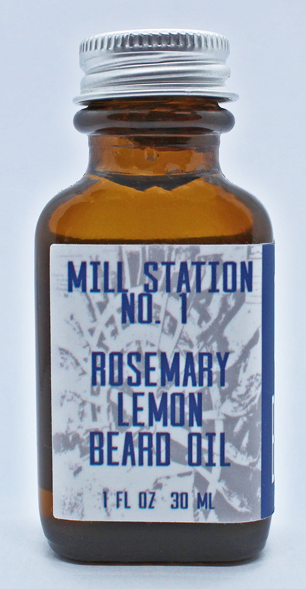 Organic Rosemary Lemon Beard Oil