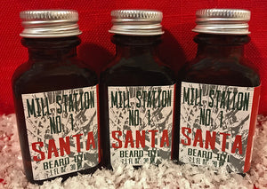Limited Edition Santa Organic Beard Oil 1 oz
