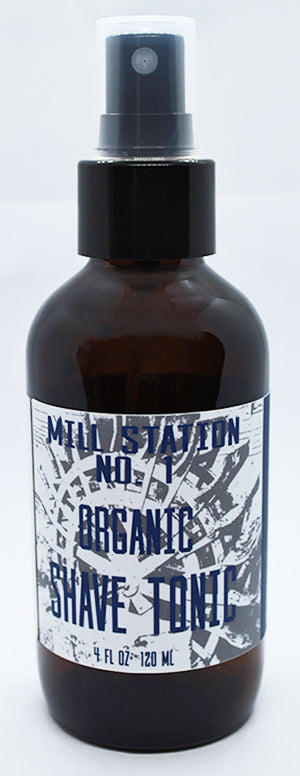 Mill Station No. 1 Organic Shave Tonic