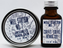 Organic Beard Balm and Beard Oil Combo