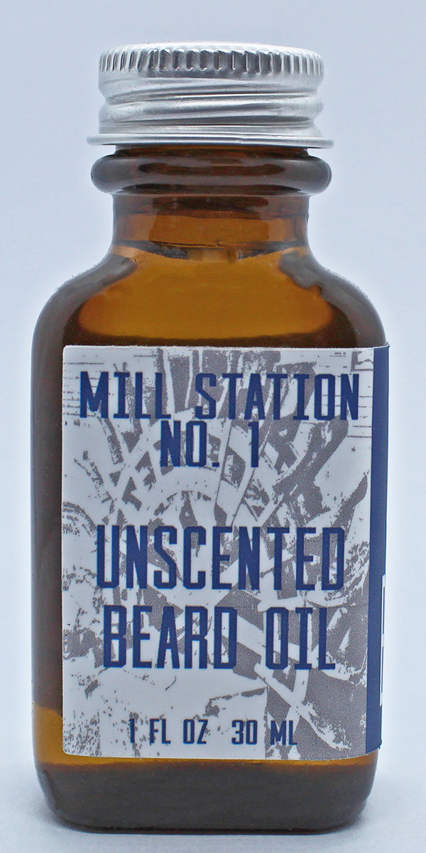 Organic Unscented Beard Oil