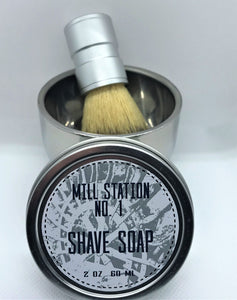 Wet Shave Kit - Mill Station No. 1