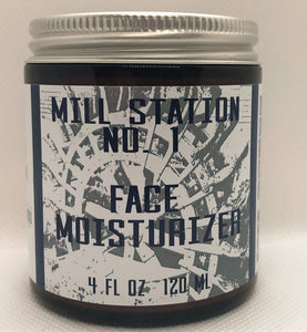 Organic Face Moisturizer 4 oz - Mill Station No. 1