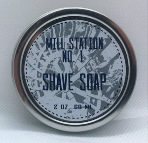 Shave Soap 2 oz - Mill Station No. 1