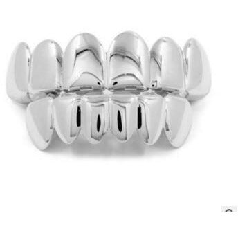 Black Vampire Teeth Grillz