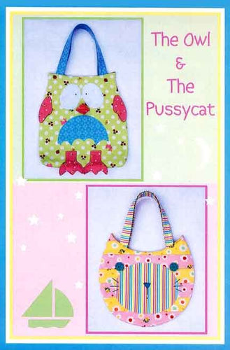 The Owl & The Pussycat Bag by Melly & Me