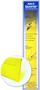Add-a-Quarter Ruler 12