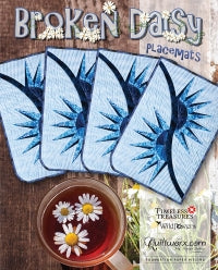 Q - Broken Daisy Placemats Kit Option 2