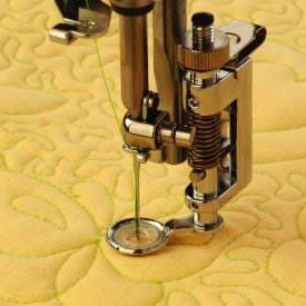 Janome Darning Foot with Darning Plate