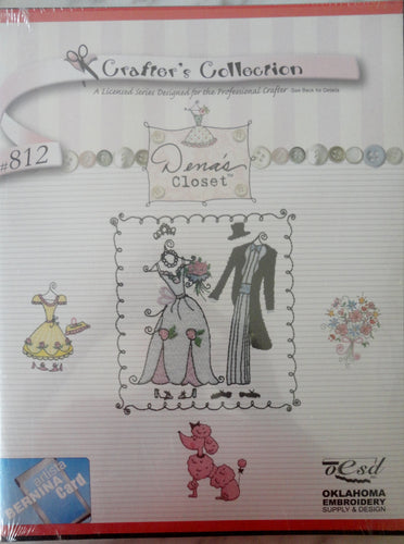 Artista Studio Bernina Crafter's Collection - Dena's closet #812 Embroidery Set