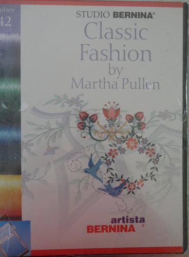 Artista Studio Bernina Classic Fashion by Martha Pullen #542 Embroidery Set