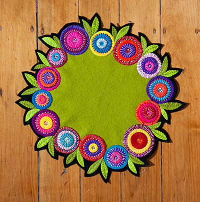 Flower Table Mat by Wendy Williams