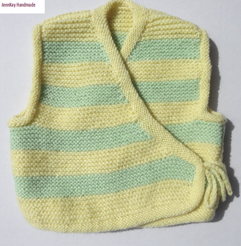 Baby Knitted Vest - 6-9 months