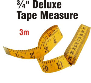 "Tape Measures - 3/4"" x 120"""