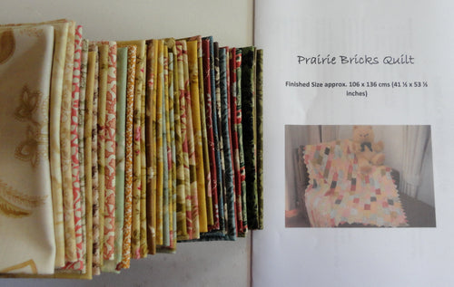 Prairie Bricks Pattern + Kit