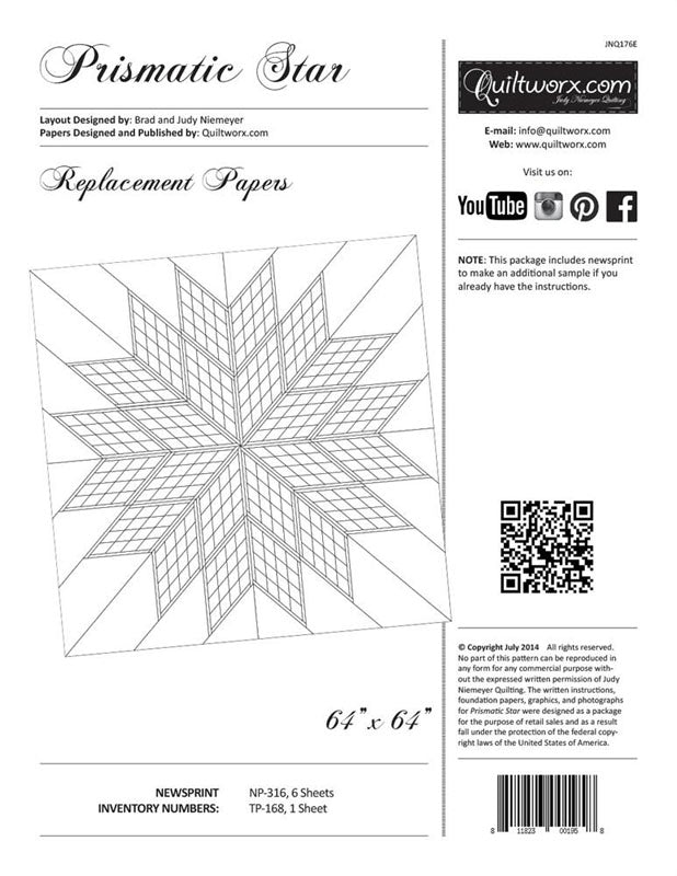 Q - Prismatic Star Replacement Papers
