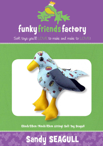 Sandy Seagull from Funky Friends Factory