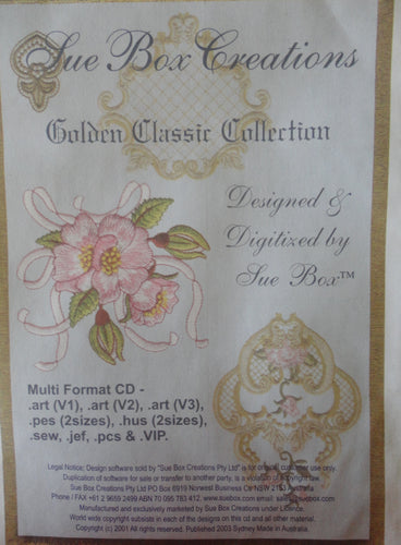 Sue Box Creations - Golden Classic Collection