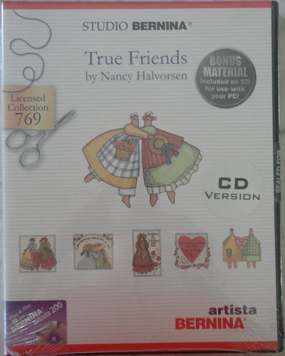 Studio Bernina True Friends by Nancy Halvorsen #769 Embroidery Set