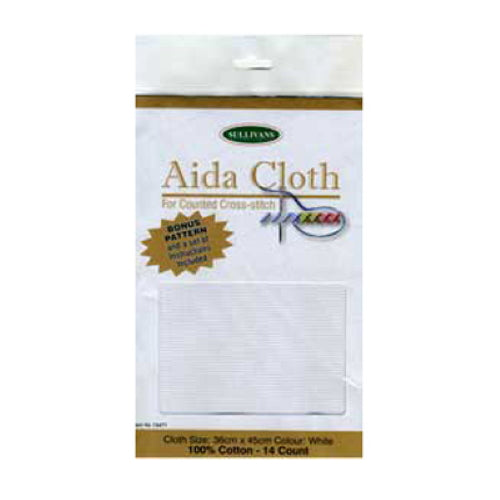 Aida Cloth for Counted Cross Stitch