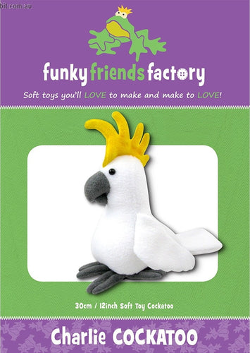 Charlie Cockatoo from Funky Friends Factory