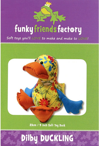 Dilby Duckling from Funky Friends Factory