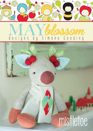 'Mistletoe' - May Blossom designs by Simone Gooding