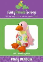 Penny Penguin from Funky Friends Factory