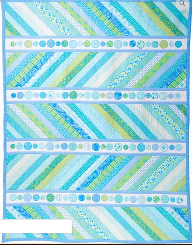 Sea Spray Quilt - Monica Poole - Moon Shine