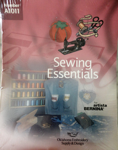 Artista Bernina Sewing Essentials #A1011 Embroidery Set