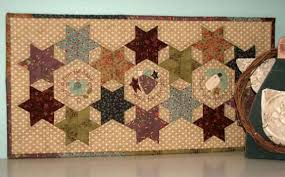 Starry Eyed Table Runner by The Birdhouse