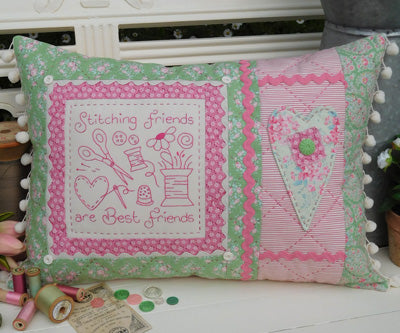 '' Stitching Friends' by Sally Giblin for The Rivendale Collection