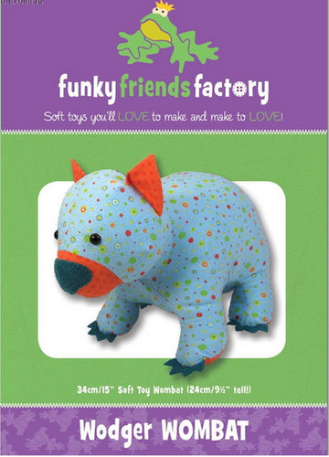 Wodger Wombat from Funky Friends Factory