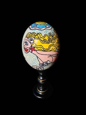 Magic Ostrich Egg - Mermaid
