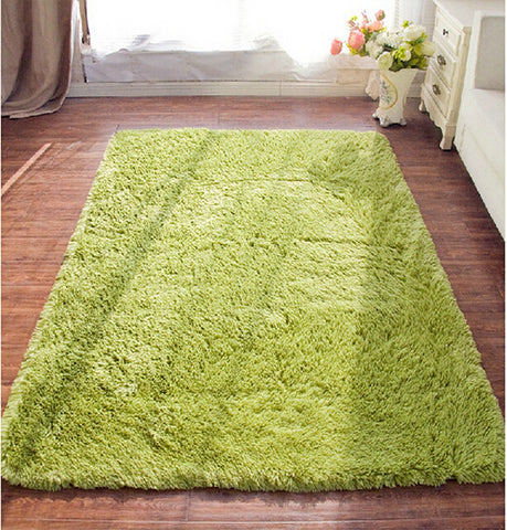 Large Size Plush Shaggy Soft Carpet Area Rugs For Living Room/ Bedroom