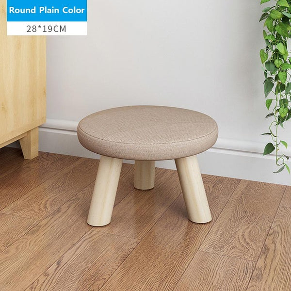 Small seat Wooden Ottoman- Small Chair  and Table Kids Furniture
