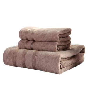 3PC 100% Egyptian Cotton Bathroom Towel Set