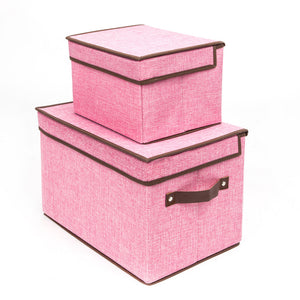 4 X Foldable Canvas Underwear Storage Boxes