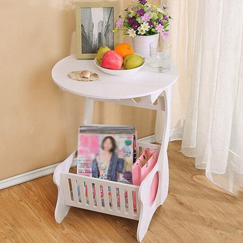 Multifunction Wooden Storage Shelf
