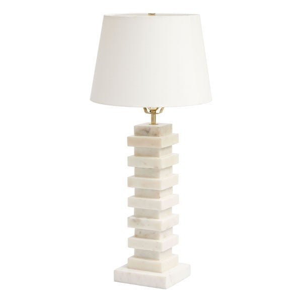 Zuo Stewart White Table Lamp