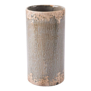 Zuo Distressed Blue Md Vase