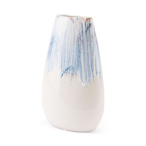 Ombre Md -Blue & White Vase