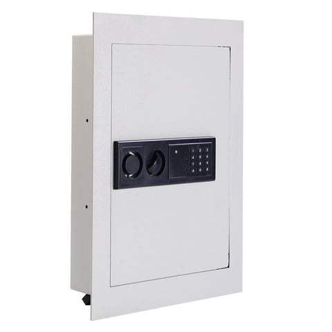 Electronic  Digital Flat Recessed Wall Safe -Lock Gun Cash Box