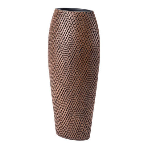 Zuo Cuadra Tall Brown Vase